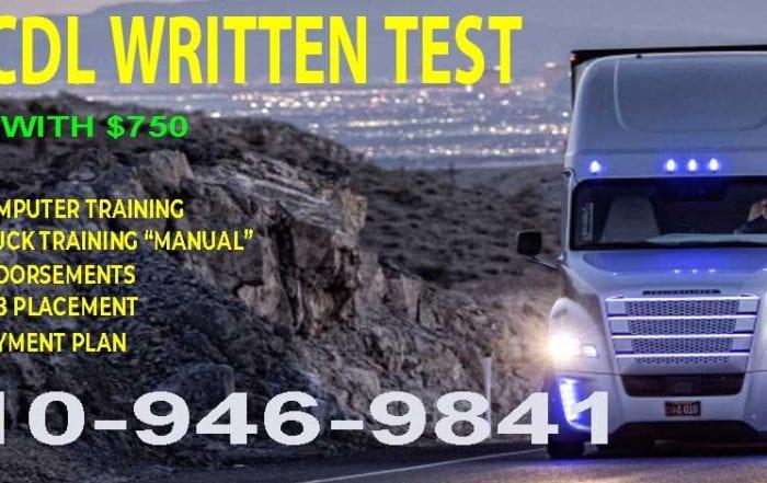 Texas DMV Written Test IMAGE SHOW