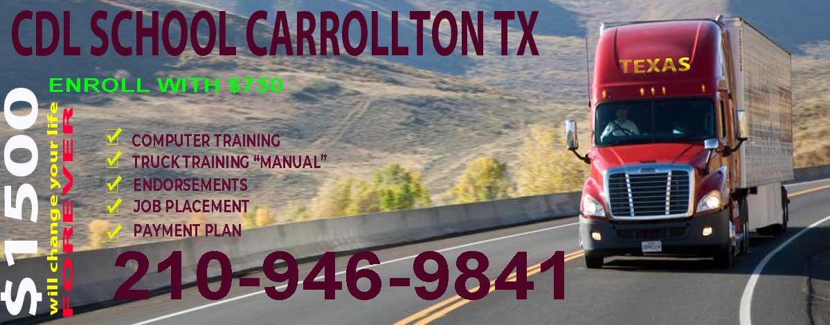 truck driving school CDL Carrollton TX