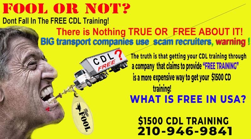TRUCK TRAINING IN HOUSTON TX PRICE 1500