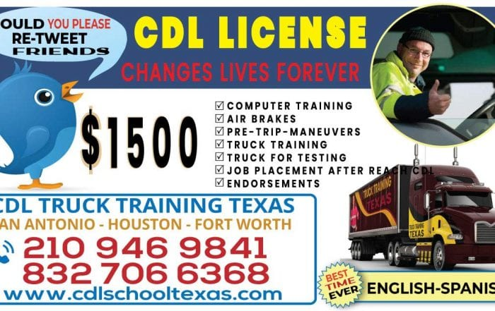 CDL school San Antonio Texas image show phone number and services