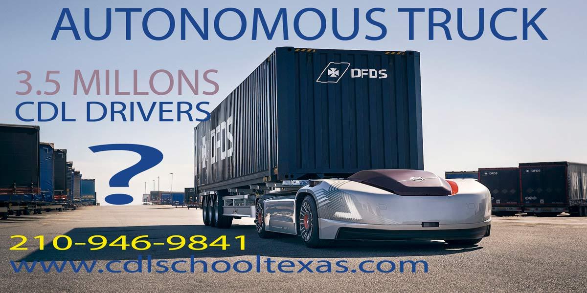 autonomous trucks warning jobs in risk