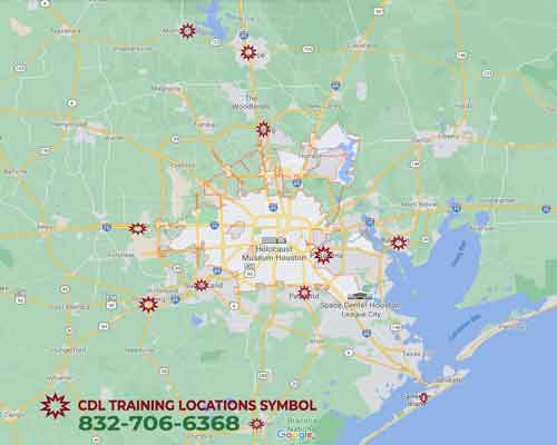 image is the training map CDL-TRUCK-DRIVING-SCHOOL-HO