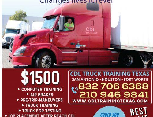 CDL TRUCK DRIVING SCHOOL HOUSTON