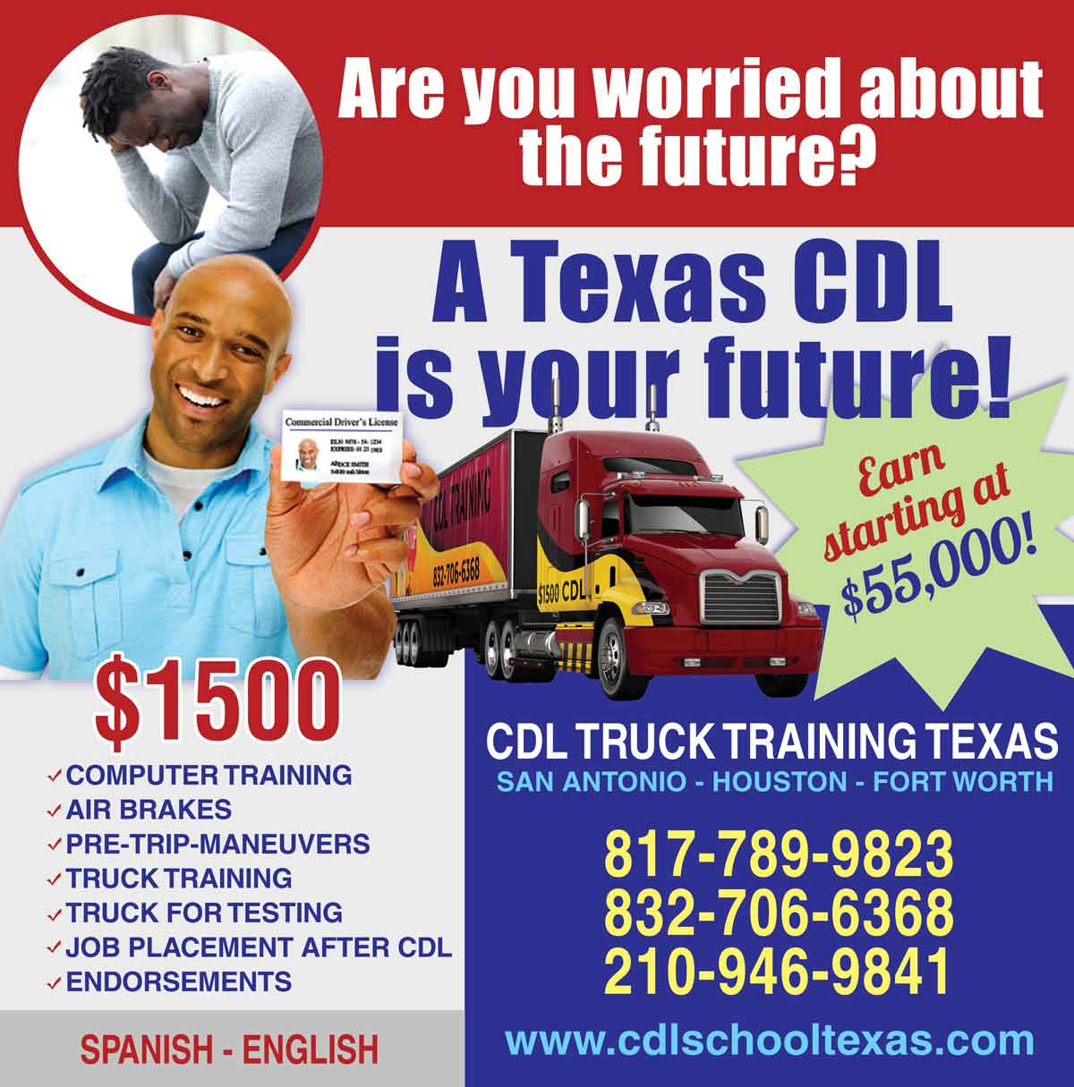 Mcallen truck driving Details