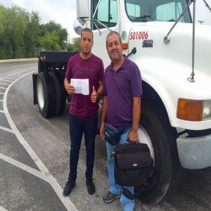 Delivery of cdl school San Antonio certification